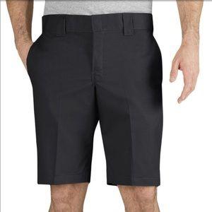 NWT! Dickies Slim Fit Work Shorts Men's 31 Black